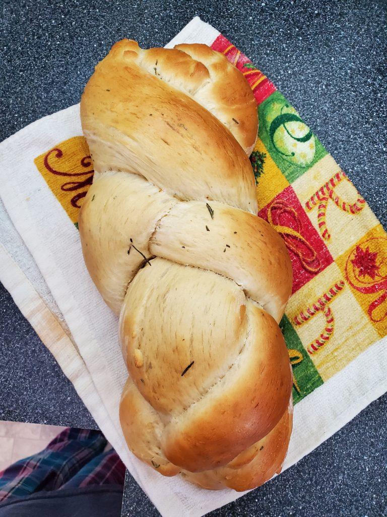 rosemary lughnasadh bread